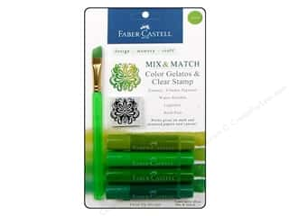 stamps: FaberCastell Gelatos Color Set 4 pc. Green