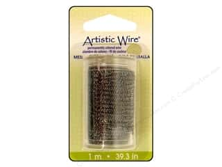 Clearance Artistic Wire Mesh: Artistic Wire Mesh 3/4 in. Hematite 39 in.
