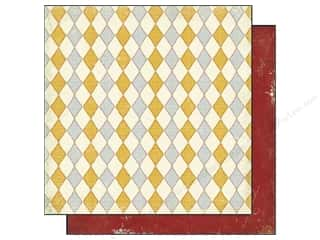Cardstock  6x6: Authentique 6 x 6 in. Paper Free Bird Collection Poised Diamond Gold (25 sheets)