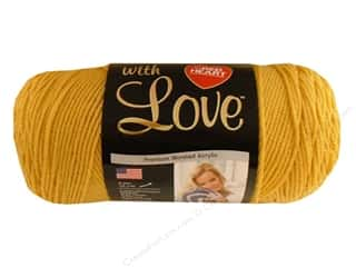 Red Heart With Love Yarn 370 yd. #1207 Cornsilk