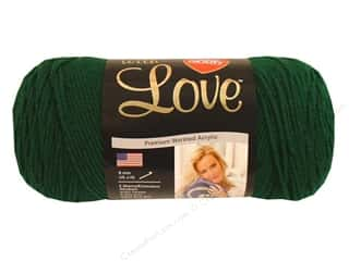 yarn: Red Heart With Love Yarn 370 yd. #1621 Evergreen