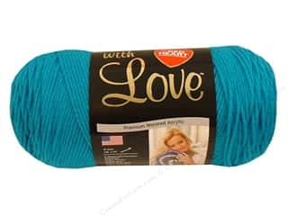 yarn & needlework: Red Heart With Love Yarn 370 yd. #1803 Blue Hawaii