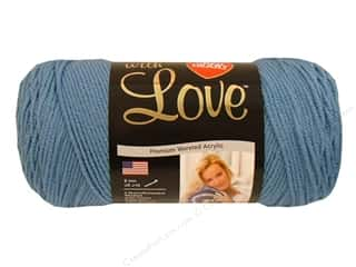 yarn & needlework: Red Heart With Love Yarn 370 yd. #1805 Bluebell