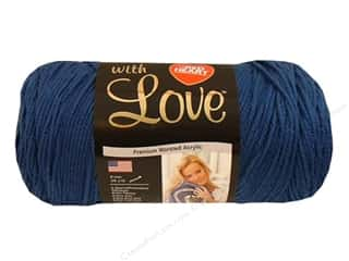 Everything You Love Sale: Red Heart With Love Yarn #1814 True Blue 370 yd.