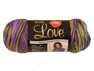 Red Heart With Love Yarn 230 yd. #1816 Waterlily