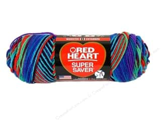 yarn & needlework: Red Heart Super Saver Yarn 236 yd. #0906 Heartfelt