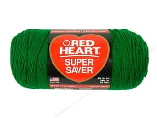 Red Heart Super Saver Jumbo Yarn 744 yd. #368 Paddy Green