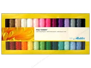 Mettler PolySheen Embroidery Thread Gift Set 28 pc. Solids