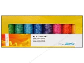 Mettler PolySheen Embroidery Thread Gift Set 8 pc. Pastels