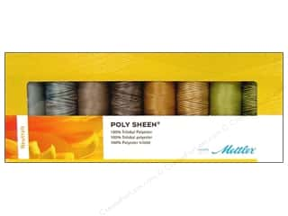 Mettler PolySheen Embroidery Thread Gift Set 8 pc. Neutrals