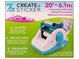 glues, adhesives & tapes: Xyron 2 1/2 in. Create-A-Sticker Permanent Refill 20 ft.