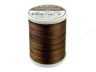 Sulky Blendables Cotton Thread 30 wt. 500 yd. #4068 Dark Chocolate