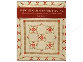 C&T Publishing New English Paper Piecing Book by Sue Daley