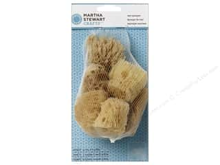 craft & hobbies: Martha Stewart Tools Sea Sponge Set 6pc