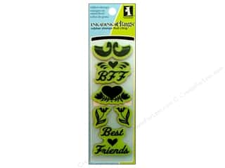 stamps: Inkadinkado InkadinkaClings Rubber Stamp Folk Best Friend