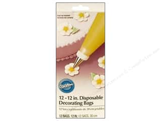 "Baking Tools / Decorating Tools: Wilton Tools Cake Decorating Bag Disposable 12"" 12pc"