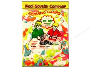 Weekly Specials Kid's Crafts: Wool Novelty Weaving Nylon Loops 16oz