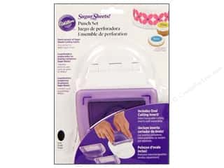 Wilton: Wilton Tools Sugar Sheet Punch Set with Oval Insert