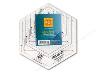 Weekly Specials Sewing Scissors: EZ Quilting Hexagon Acrylic Template
