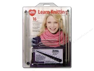 Red Heart Learn Knitting Kit