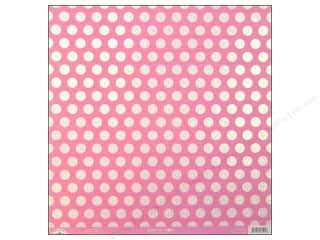 Doodlebug 12 x 12 in. Paper Candy Dots Cupcake