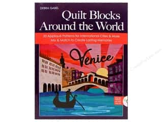Computer Software / CD / DVD: C&T Publishing Quilt Blocks Around The World Book by Debra Gabel