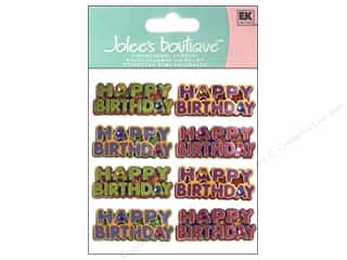 scrapbooking & paper crafts: Jolee's Boutique Stickers Happy Birthday Words Repeats