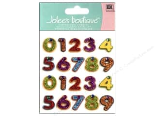 Jolee's Boutique Stickers Repeats Number Candle