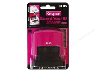 Clearance Art Impressions Rubber Stamp: Plus Guard Your ID Stamp Large Pink