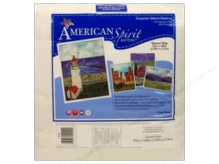 "Cotton batting: Fairfield American Spirit Batting Superior Cotton/Poly 90""x 108"""