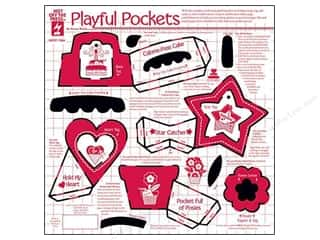 scrapbooking & paper crafts: Hot Off The Press Templates Playful Pockets