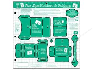 Hot off the Press  Papers : Hot Off The Press Templates Pint Sized Holders & Folders