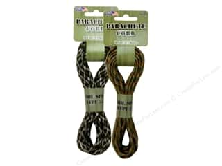 Pepperell 550 Parachute Cord 16 ft. Army Camo Assorted
