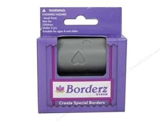 scrapbooking & paper crafts: Xyron Creatopia Embossing Patternz Border Hearts 1