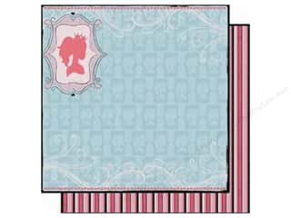 Clearance Best Creations Paper 12x12: Best Creation 12 x 12 in. Paper Sixteen Candles Princess Silhouette (25 sheets)