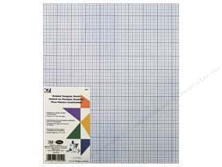 Weekly Specials Sewing Scissors: EZ Quilting Template Plastic 12 x 18 in. Gridded