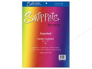 Cardstock Variety Pack 8 1/2 x 11 in. Assorted 5 pc. by Paper Accents