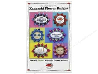 La Todera Kanzashi Flower Badges Pattern