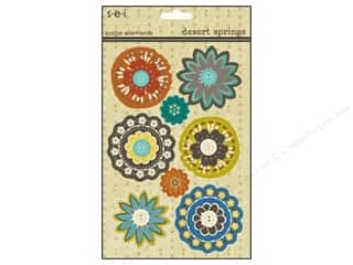 Scrapbooking & Paper Crafts: SEI Sticker Cardstock Desert Springs