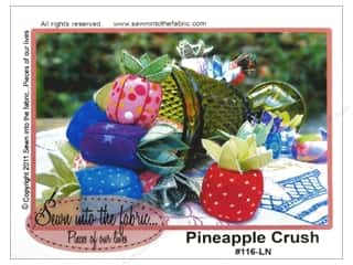 home decor pattern: Sewn Into The Fabric Pineapple Crush Pattern