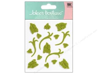 stickers: Jolee's Boutique Stickers Confection Icing Leaves Green