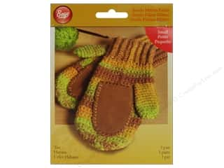 yarn & needlework: Boye Suede Mitten Palms Small Tan