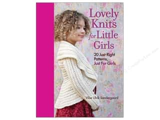 yarn  books: Taunton Press Lovely Knits For Little Girls Book