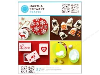 Martha Stewart Stencils by Plaid Holiday Icons Medium