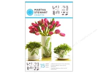 Martha Stewart Stencils by Plaid Adhesive Leaves