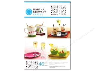 Martha Stewart Stencils by Plaid Adhesive Holiday Icons II