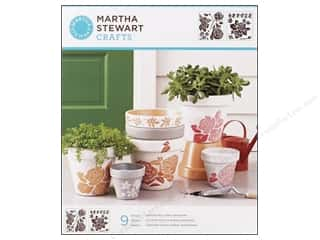 Martha Stewart Stencils by Plaid Rose Garden Medium
