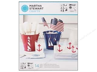 Martha Stewart Stencils by Plaid Nautical Study Medium