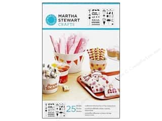 Martha Stewart Stencils by Plaid Adhesive Birthday Cheers