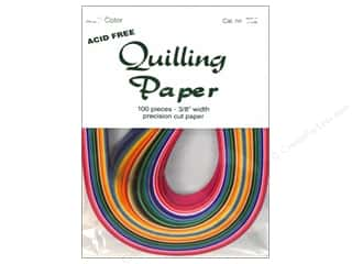 quilling: Lake City Crafts Quilling Paper 3/8 in. Multi